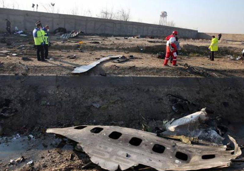 Avión Ucraniano estrellado este miércoles. Murieron sus pasajeros y tripulantes.