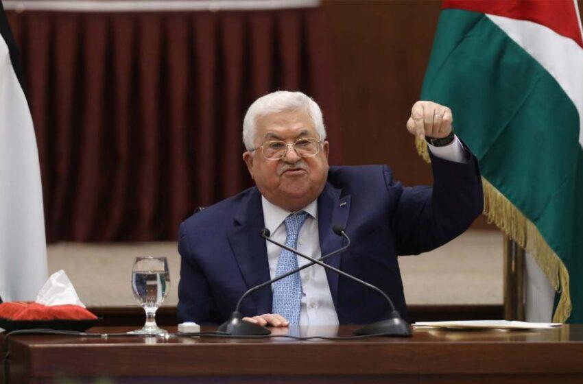 Abás anuncia el final de todos los acuerdos con Israel y EE.UU, ante planes de anexión