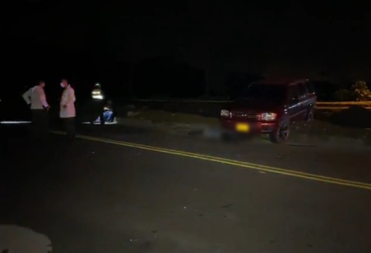 Persona fallece en accidente de tránsito sobre la vía entre Fundadores y Montecarlo
