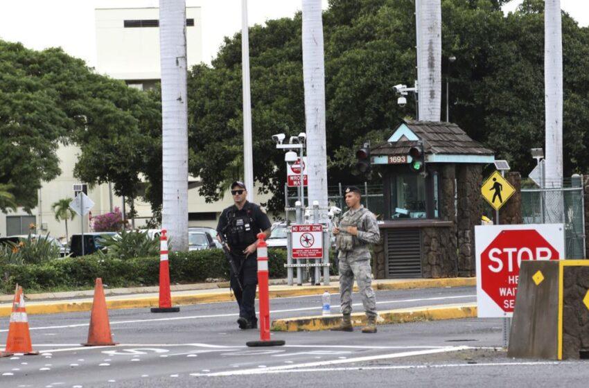 Un herido en un tiroteo en una base de la Armada de EE.UU.