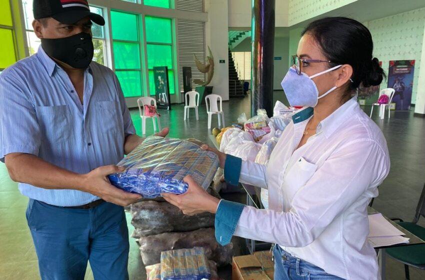 Banco de alimentos para los artistas apoyado por el Instituto Departamental de Cultura