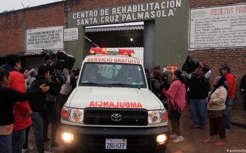 Motín en la mayor cárcel de Bolivia por un posible contagio de COVID-19