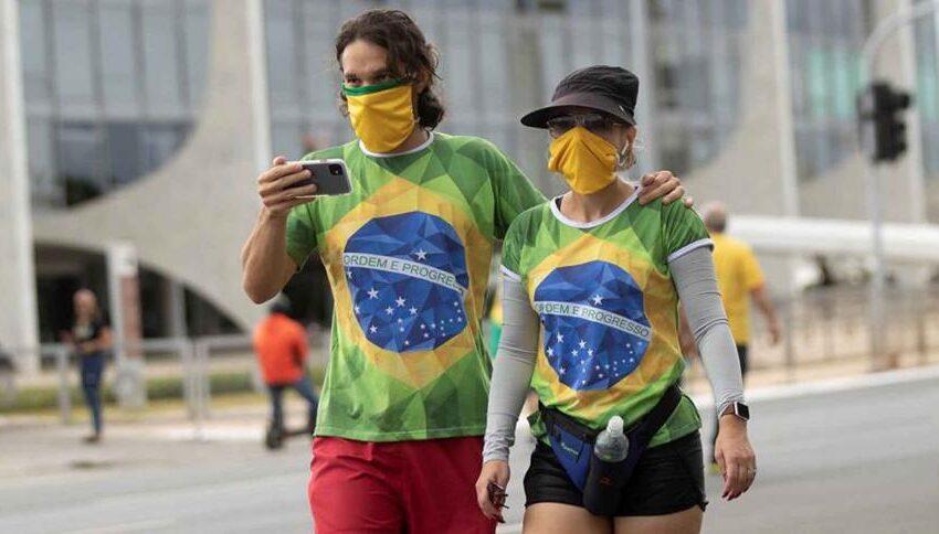 Brasil roza los 375.000 casos de coronavirus y los muertos llegan a 23.473