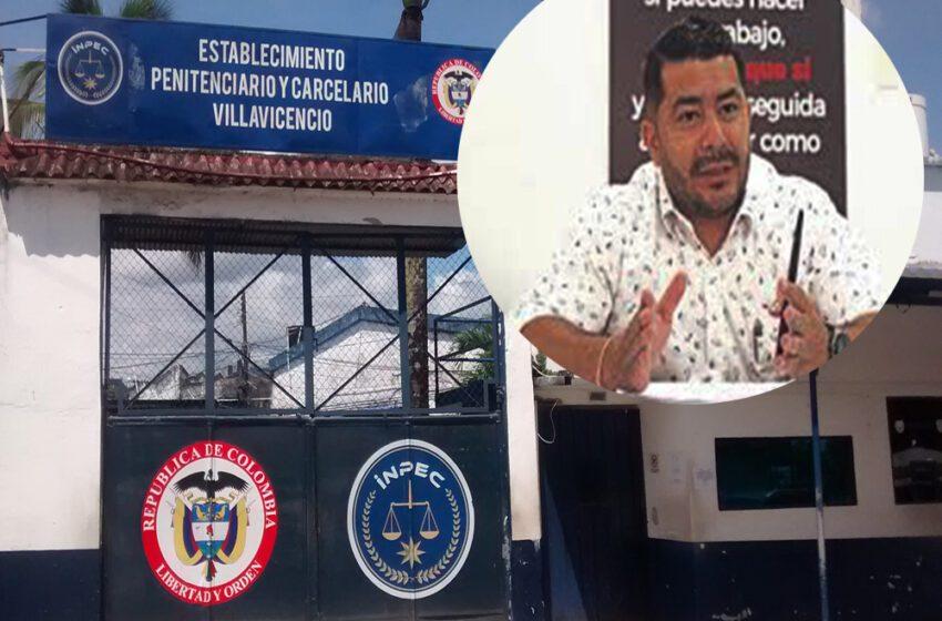 Se destapó el Director de la Cárcel de Villavicencio y señala los graves problemas existentes