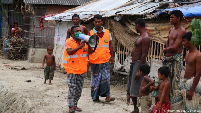 India y Bangladesh evacúan centenares de miles de personas por ciclón Amphan