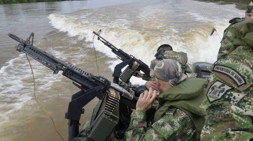 Certero golpe a narcotraficantes dio la Infantería de Marina en Guaviare