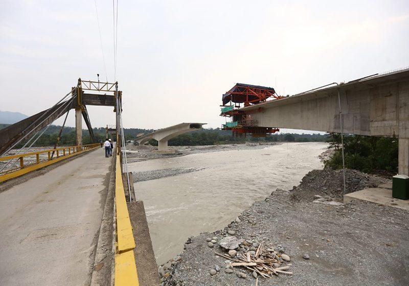 Mañana reanudan trabajos en el puente La Amistad