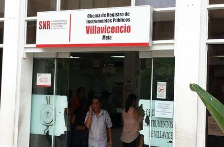 No han definido la reanudación de servicio en Notariado y Registro