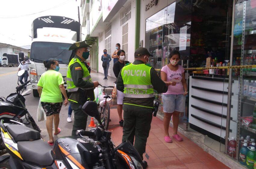 Operativos contra infractores de cuarentena en la capital del Meta