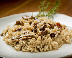 El risotto de champiñones, un plato con sabor y textura