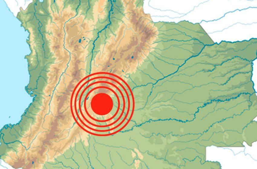 Sin consecuencias el temblor registrado en Mesetas