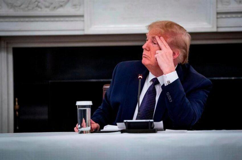 Trump seguirá tomando hidroxicloroquina por «curiosidad» y «nivel adicional de seguridad»