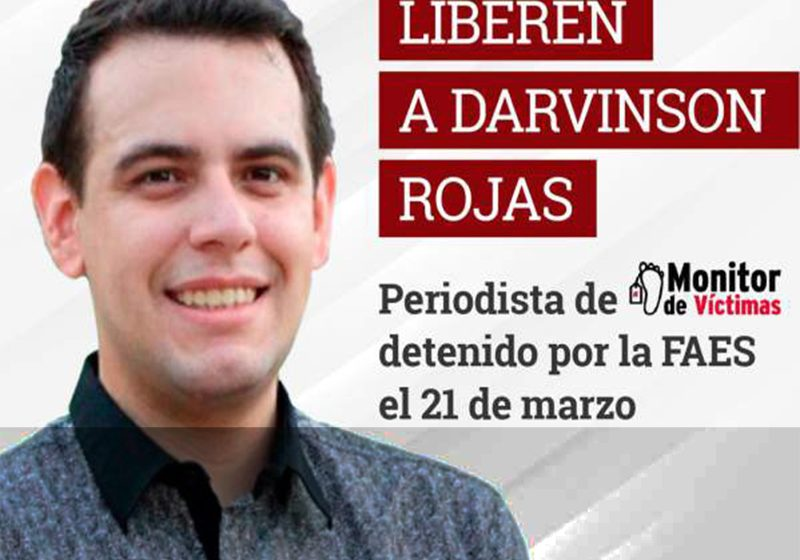 Liberan con medidas cautelares a periodista venezolano tras 12 días detenido