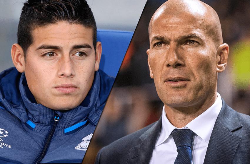 James, más borrado que nunca: Zidane hizo 5 cambios y ni lo volteó a mirar