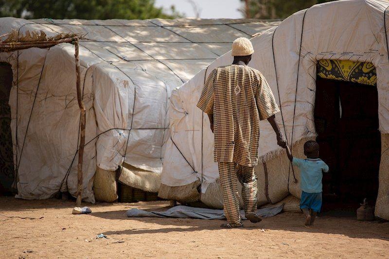 África sufre las peores crisis de desplazados del mundo, junto a Venezuela