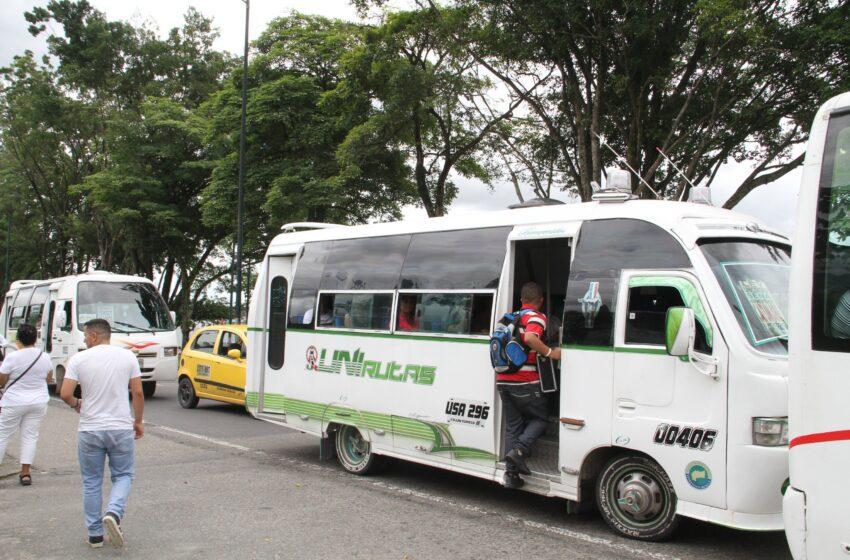 Racionalizar servicio de busetas sin comodines piden propietarios de vehículos al gobierno de Villavicencio