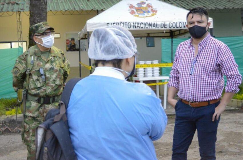 Alertas roja y amarilla señala la gravedad de la  expansión del coronavirus en Villavicencio