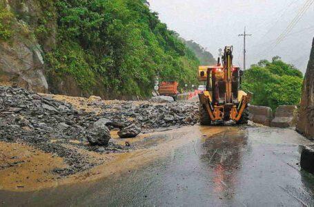 Maritza Martínez solicitó certificar avance de obras para evitar nuevos derrumbes sobre la vía a Bogotá