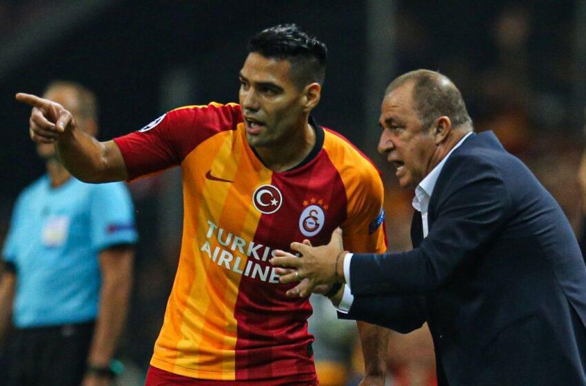 Falcao vive una noche opaca en su regreso a la competencia con el Galatasaray