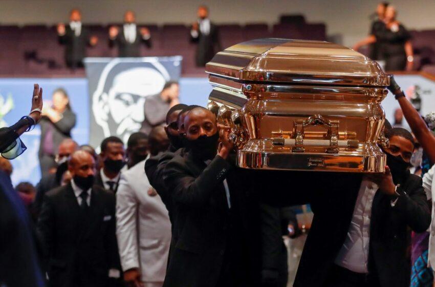 """Estados Unidos despide a George Floyd en un funeral privado por «el cambio"""""""