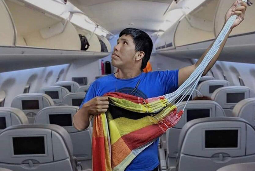 Humor: Cuando eres del rancho y viajas por primera vez en avión…