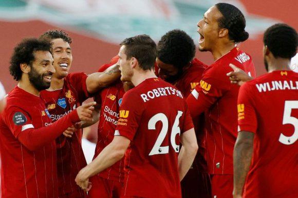 Liverpool, campeón por primera vez de la Premier League, luego de 30 ediciones