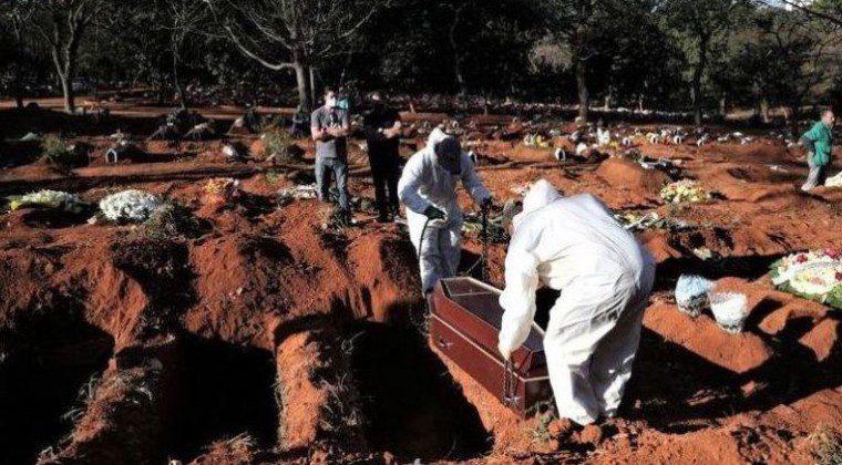 Brasil registra récord de 1.349 muertes en un solo día por COVID-19