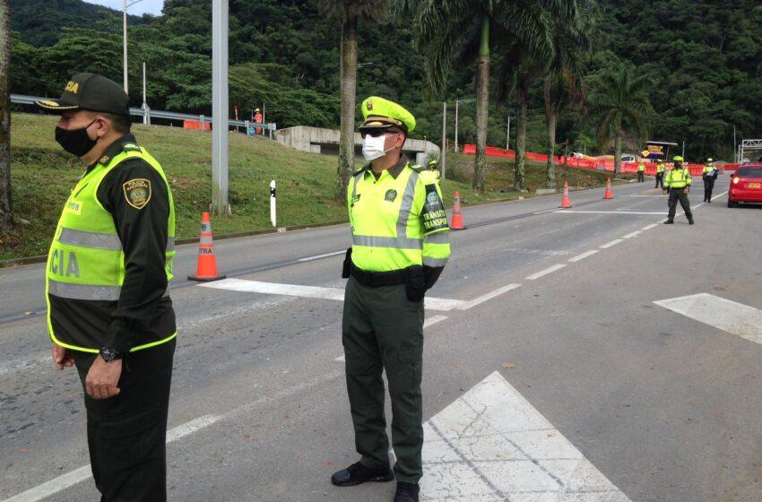 Listo operativo de fuerza pública para custodiar ejes viales de acceso al Meta
