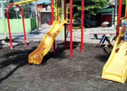 Polideportivos en barrios, obras paralizadas pese a la millonaria inversión