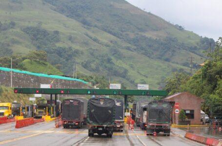 Desde las cero horas entró en operación el cobro de peajes sobre la vía a Bogotá y el resto del país