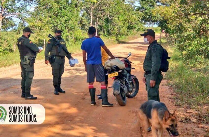La policía del Meta ha intensificado los operativos contra la delincuencia
