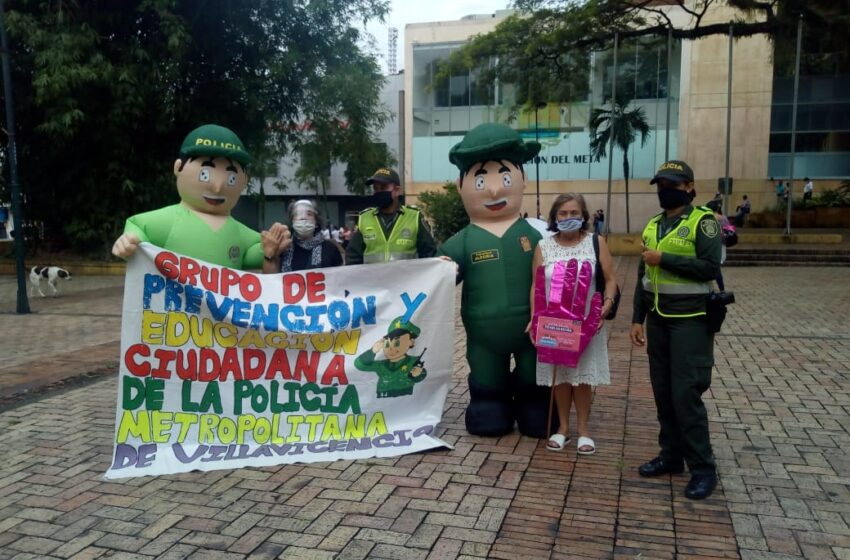 Diferentes campañas adelanta la policía en Villavicencio