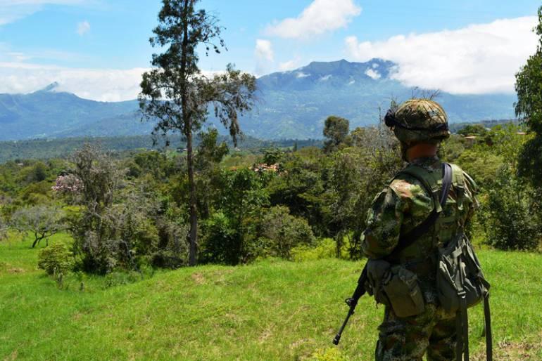 Soldados salen de selvas de Guaviare a descanso por pandemia de coronavirus