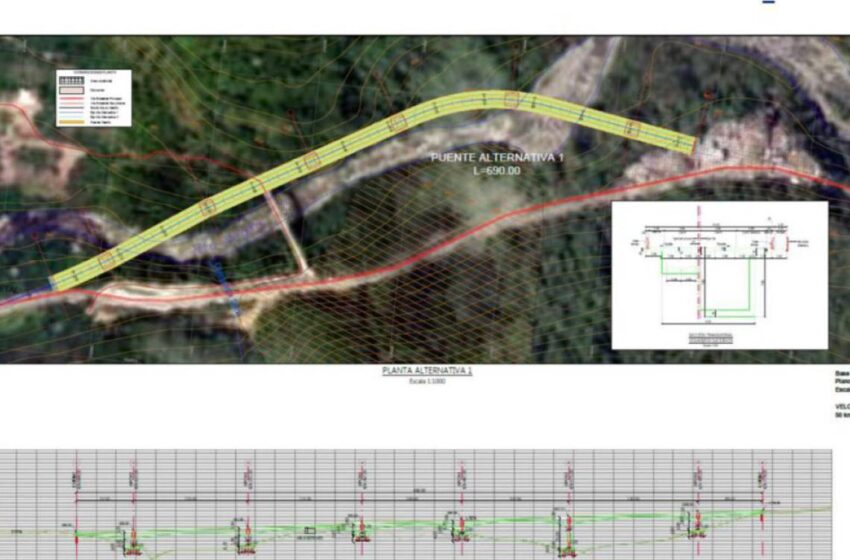 Gobierno publicó pre pliegos para estudio y diseño del viaducto en el kilómetro 58 de la vía a Bogotá
