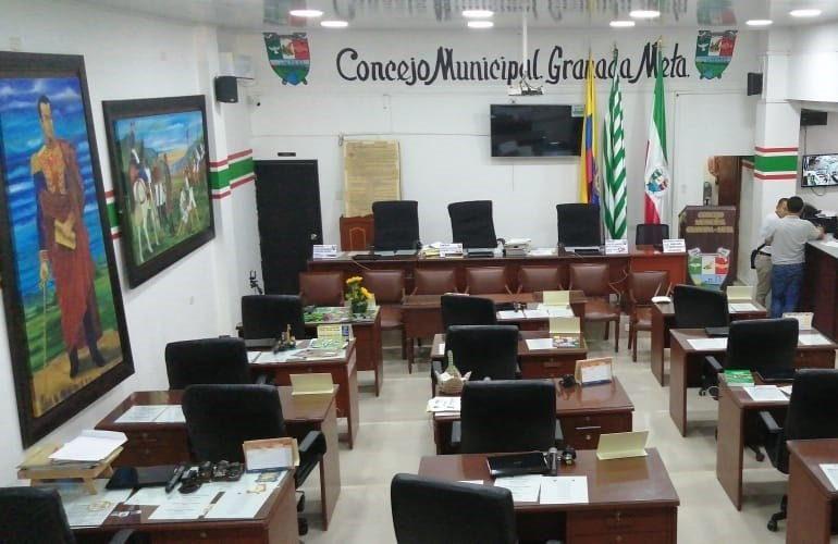 Audiencia de pérdida de investidura a concejales de Granada este viernes en el Tribunal del Meta