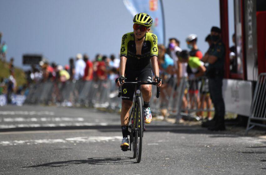 Esteban Chaves dio exhibición en montaña de la Vuelta a Burgos y sueña con el título