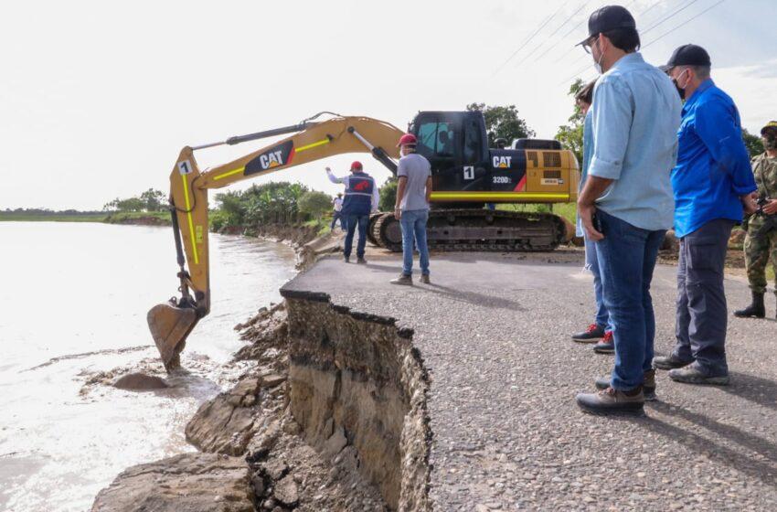 Director Nacional del Invias hoy examina  situación por desastres de la ola invernal