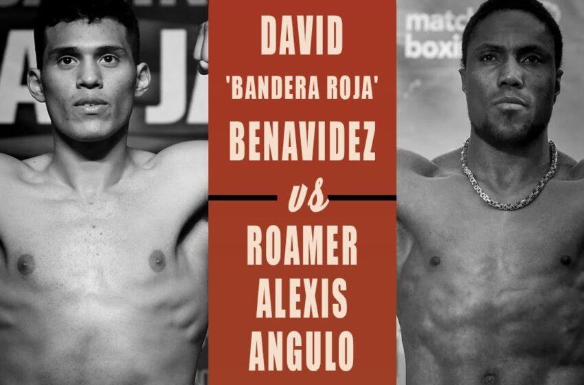 Estadounidense Benavidez anuncia estar listo para vencer al colombiano Angulo