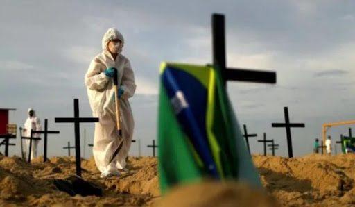 Brasil roza las 73.000 muertes y 1,9 millones de infectados por coronavirus