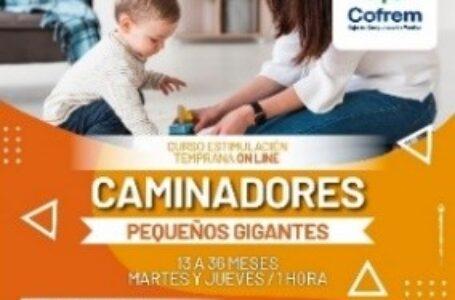 Virtualmente madres a hijos tienen la oportunidad de estimularlos en programa de Cofrem