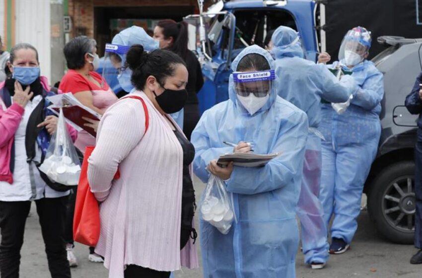La pandemia desborda a Colombia con 5.335 contagiados y 187 muertos en un día