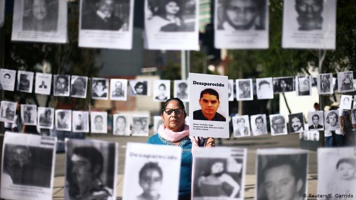 México reporta 73.201 personas desaparecidas desde 1964 a la fecha