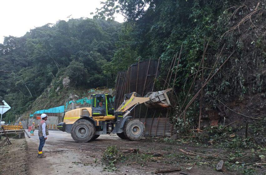 Deslizamientos en cuatro puntos inestables representan un riesgo alto en la vía a Bogotá