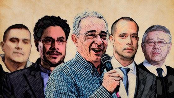 Congresistas, abogados y exparamilitares: quién es quién en el caso de Uribe
