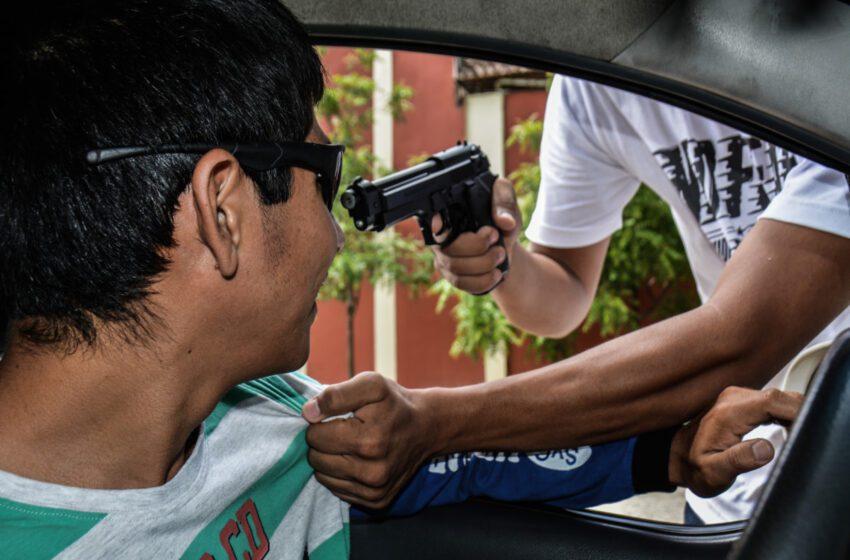 Atracos a mano armada disparados en la ciudad
