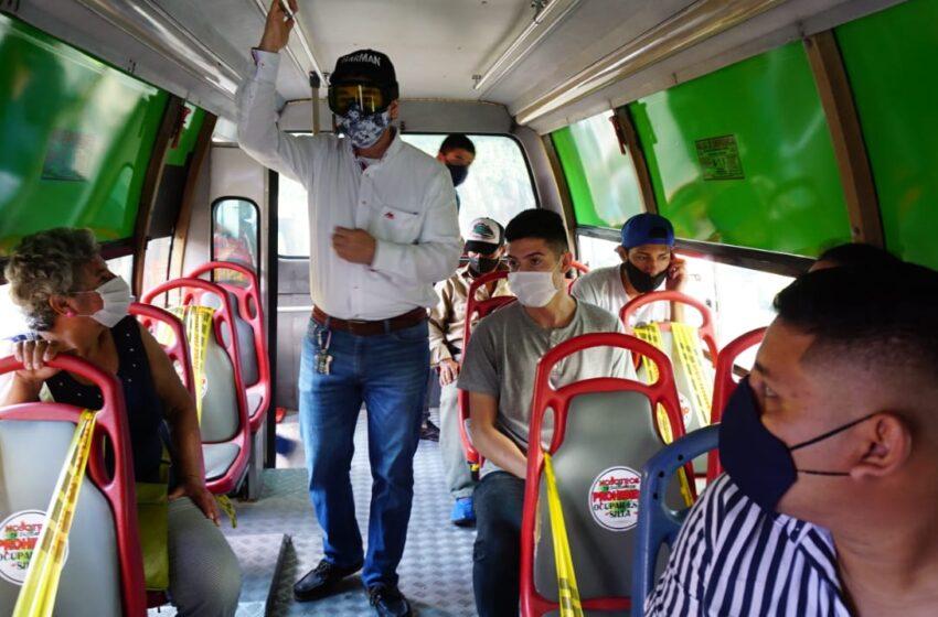 Transportadores de colectivas urbanas piden subsidio por trabajo a pérdida