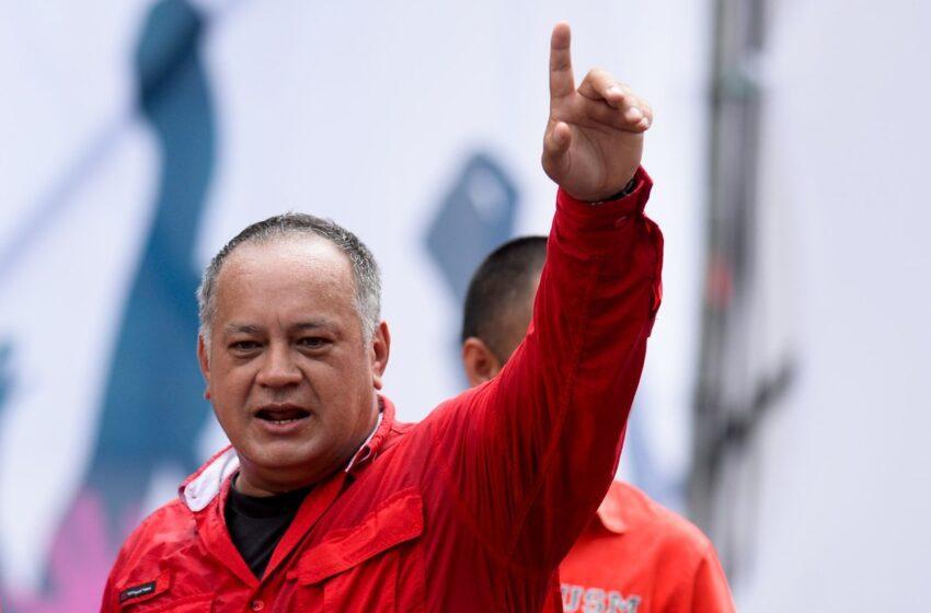 Dirigente chavista Diosdado Cabello reaparece tras casi un mes con COVID-19