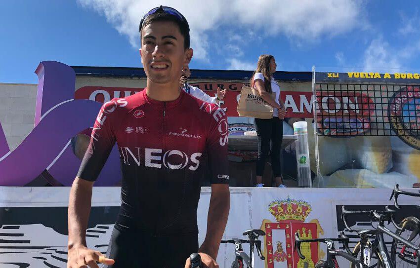 Con espectacular ataque en la montaña, Sosa gana última etapa de Vuelta a Burgos