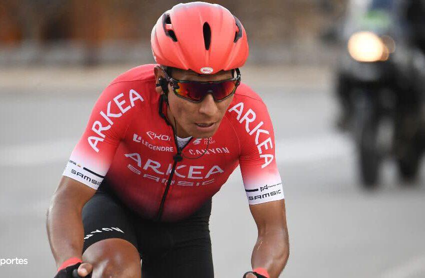 Aún en recuperación, Nairo volvió a competencia con top 10 en el Mont Ventoux