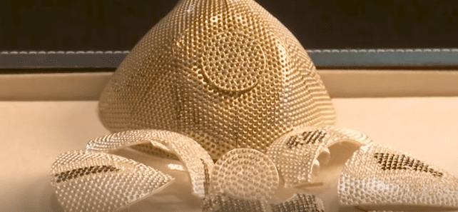 Crean el tapabocas más caro del mundo; tiene oro y diamantes, pero… ¿sí protege?